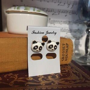 Jewelry - 🐼 Panda Earrings Enamel & 💎 🐼🎯